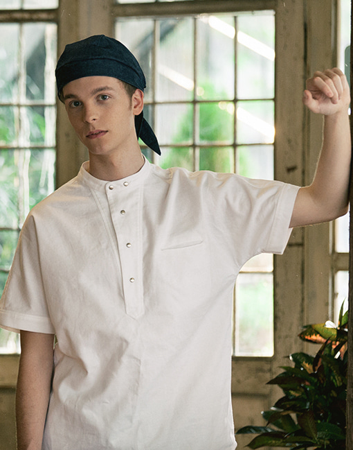 Waffle over-fit chef coat #AJ1800